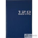 Книга учета бухгалтерская Альт офсет А4 120 листов в клетку на сшивке (обложка - бумвинил)