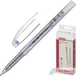Ручка гелевая Attache Ice синяя (толщина линии 0.5 мм)