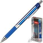 Ручка шариковая масляная автоматическая Unimax Tri Tek RT синяя (толщина линии 0.5 мм)