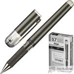Ручка гелевая Pentel Hybrid gel Grip DX черная (толщина линии 0.35 мм)