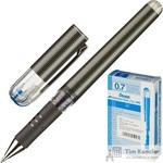 Ручка гелевая Pentel Hybrid gel Grip DX синяя (толщина линии 0.35 мм)