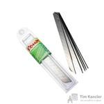 Запасные лезвия для канцелярских ножей Комус 9 мм (10 штук в упаковке)