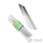 Запасные лезвия для канцелярских ножей Комус 18 мм (10 штук в упаковке)