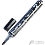Маркер для досок Pentel Maxiflo Flex-Feel черный (толщина линии 1-5 мм)