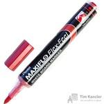 Маркер для досок Pentel Maxiflo Flex-Feel красный (толщина линии 1-5 мм)