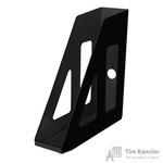 Вертикальный накопитель Attache пластиковый черный ширина 70 мм