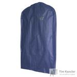 Чехол для одежды синий 110x60x10см (5485)