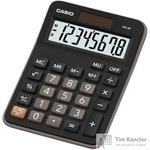 Калькулятор настольный Casio MX-8B 8-разрядный черный
