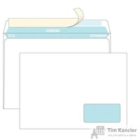 Конверт почтовый BusinessPost C4 (229x324 мм) белый отрывная силиконовая лента правое нижнее окно (250 штук в упаковке)
