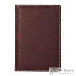 Телефонная книга Attache Bizon искусственная кожа A5 120 листов бордовая (142x210 мм)