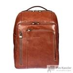 Рюкзак Gianni Conti из натуральной кожи коричневого цвета (913765)