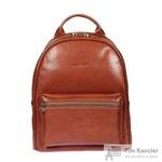 Рюкзак Gianni Conti из натуральной кожи коричневого цвета (914309)