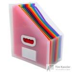 Вертикальный накопитель Exacompta Crystal Magazine File 12 отделений (26.5x32.5 см)