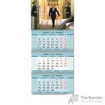 Календарь настенный трехблочный на 2019 год Путин В.В. (345х765 мм)