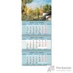 Календарь настенный трехблочный на 2019 год Очарование Москвы (345x765 мм)