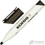 Маркер для досок Kores 20850 черный (толщина линии 3-5 мм)