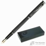 Ручка перьевая Pierre Cardin Tresor цвет чернил синий цвет корпуса черный (артикул производителя PC1001FP-03)