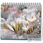 Календарь-домик настольный на 2019 год Времена Года (120x110 мм)