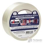 Клейкая лента армированная стекловолокном Unibob белая 50 мм x 50 м толщина 130 мкм