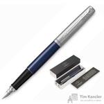 Ручка перьевая Jotter FP Royal blue CT цвет чернил синий цвет корпуса синий (артикул производителя 2030950)