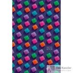 Блокнот Listoff Леденцовое настроение A5 130 листов цветной в клетку на сшивке (145x210 мм)