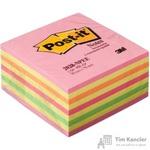 Стикеры Post-it Original 76х76 мм неоновые 5 цветов (1 блок, 450 листов)