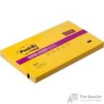 Стикеры Post-it 76x127 мм неоновые желтые (1 блок, 90 листов)
