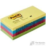 Стикеры Post-it Original 38x51 мм неоновые 4 цвета (12 блоков по 100 листов)