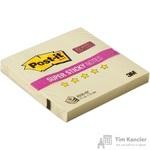 Стикеры Z-сложения Post-it Super Sticky 76х76 мм пастельные желтые для диспенсера (1 блок, 90 листов)