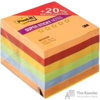 Стикеры Post-it Super Sticky Огонь 76x76 мм неоновые 5 цветов (6 блоков по 90 листов)