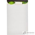 Блокнот A5 60 листов белый в клетку на скрепке (140x230 мм)