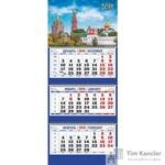 Календарь настенный трехблочный на 2019 год Новодевичий монастырь (310х685 мм)