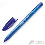 Ручка гелевая Attache Glide Trigel синяя (толщина линии 0.5 мм)