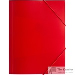 Папка на резинке Attache Economy A4 пластиковая красная (0.45 мм, до 200 листов)