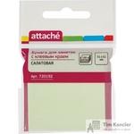 Стикеры Attache 51х51 мм пастельные салатовые (1 блок, 100 листов)
