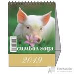 Календарь-домик настольный на 2019 год Символ года 1 (100х140 мм)