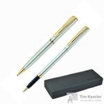 Набор письменных принадлежностей Pierre Cardin Pen Pen серебристый (шариковая ручка, роллер)
