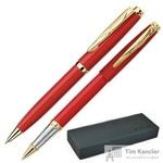 Набор письменных принадлежностей Pierre Cardin Pen Pen красный (шариковая ручка, роллер)