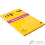 Стикеры Post-it Super Sticky 150х228 мм неоновые желтые (1 блок, 90 листов)