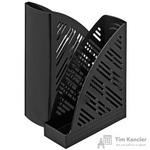 Вертикальный накопитель Attache пластиковый черный ширина 85 мм (2 штуки в упаковке)