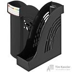 Вертикальный накопитель Attache пластиковый черный ширина 95 мм (2 штуки в упаковке)