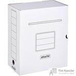 Короб архивный Attache гофрокартон белый 256x150x320 мм (5 штук в упаковке)