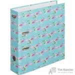 Папка-регистратор Attache Selection Flamingo 75 мм голубая/розовая
