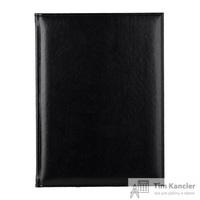 Ежедневник датированный на 2019 год Attache Каньон искусственная кожа А4 176 листов черный (200x270 мм)