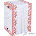 Короб архивный Attache Selection гофрокартон белый 251х202х355мм