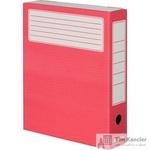 Короб архивный Attache микрогофрокартон красный 252x75x322мм (5 штук в упаковке)