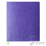 Бизнес-тетрадь Escalada Копибук А4+ 80 листов фиолетовая в клетку на склейке (220x266 мм)
