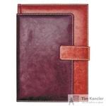 Ежедневник полудатированный Escalada искусственная кожа А4 192 листа коричневый (190x265 мм)