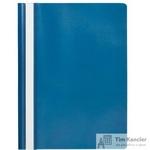 Папка-скоросшиватель Attache Economy A4 синяя 10 штук в упаковке (толщина обложки 0.11 мм)