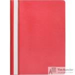 Папка-скоросшиватель Attache Economy A4 красная 10 штук в упаковке (толщина обложки 0.11 мм)